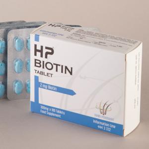 Türkiye'de İlk 2 MG Biotin