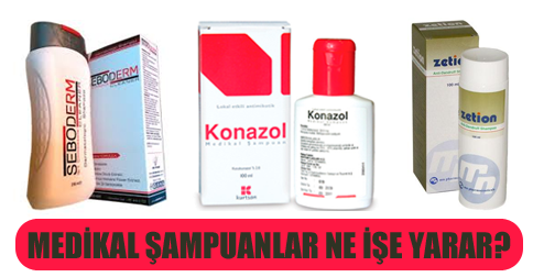 Tıbbi Şampuan Çeşitleri